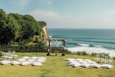 Uluwatu Surf Villa Bali Wedding Ruth Jeff Evermotion Photography